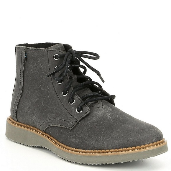 a2a0aa2ea63 TOMS Men's Porter Suede Water Resistant Boot